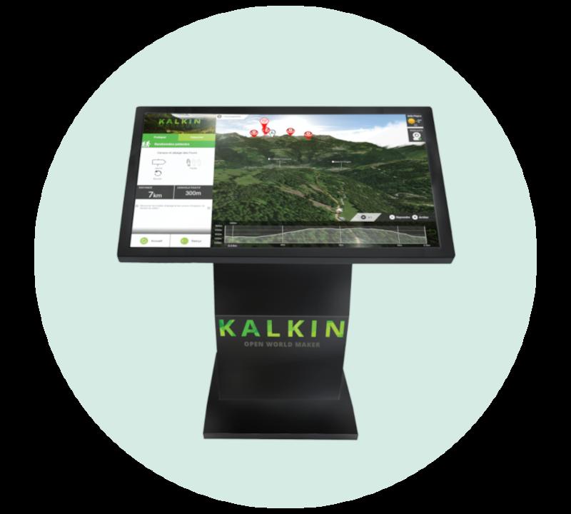 borne Kalkin office tourisme
